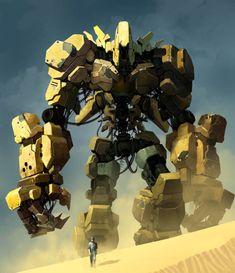 Robots and stuff (but mostly robots), theartofanimation: Reza Ilyasa