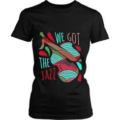 We got the Jazz T-shirt