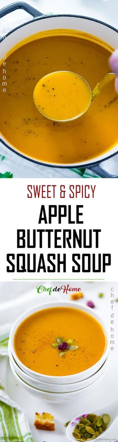 The ultimate simple Roasted Butternut Squash Soup