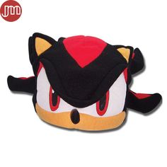 "Find More Movies & TV Information about New Black Sonic the Hedgehog Series Fleece Cosplay Hat Anime Cap Beanie Plush Costumes 6"" Anime Brinquedos for Man Boy,High Quality hat trucker,China hat winter Suppliers, Cheap hat solar from M&J Toys Global Trading Co.,Ltd on Aliexpress.com"