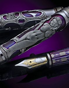One of a Kind | Grayson Tighe Stylo Art, Quill And Ink, Luxury Pens, Pen Collection, Best Pens, Dip Pen, Pencil And Paper, Fountain Pen Ink, Writing Instruments