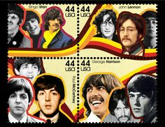 Thomason Design: Beatles Stamp Final Design