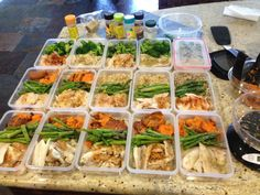 meal prep! 20 days of perfectly clean eating