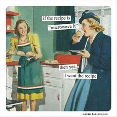 Mother cooking humor