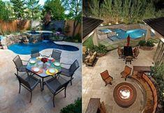 Gradina cu piscina. Cum sa ai propria oaza de relaxare Jacuzzi, Patio, Outdoor Decor, House, Home Decor, Decoration Home, Home, Room Decor, Home Interior Design