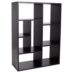 Storage Shelf Unit - Black