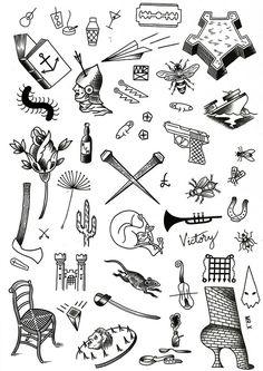 tattoo – Duke Riley. vol 7623 | Fashion & Bilder