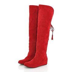 MissBoot Damenschuhe Winterstiefel mit flachem Absatz über den Knieaufladungen mehr Farben erhältlich - http://on-line-kaufen.de/missboot/missboot-damenschuhe-winterstiefel-mit-flachem