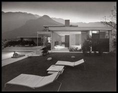 Kaufman House, Richard Neutra, Palm Springs, California, 1947