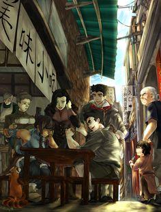 Team Avatar's Day Off   by wennley   Legend of Korra   Avatar