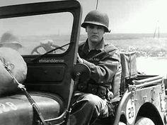 Army days - Elvis never left