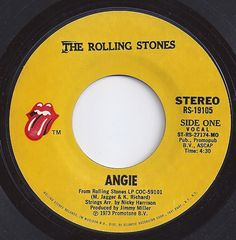 Angie / Rolling Stones / #1 on Billboard 1973