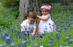 repin this pic of my kids so we can win the ft. worth star telegram bluebonnet pic contest!
