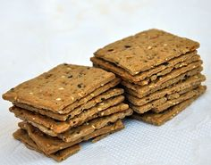 Crackers ai 7 Cereali _ olio e sale _ healthy and delicious baked goods