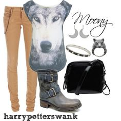 Harry Potter + Fashion. I would so rock this :))
