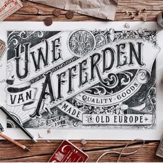 Lettering by @tobiassaul