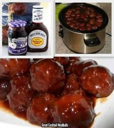 Great Cocktail Meatballs