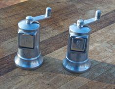 Vintage Perfex Salt  Pepper Mill