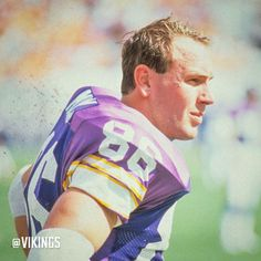 Titans Head Coach Mike Mularkey played for the #Vikings from 1983-1988.