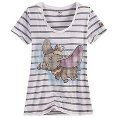 Dumbo Tee for Women | Tees, Tops & Shirts | Disney Store | Dream ...