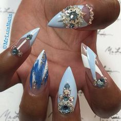 Daydreaming  by @mrluisnails