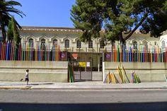 Enllapissada / Acción reivindicativa de la enseñanza pública - Archkids. Arquitectura para niños. Architecture for kids. Architecture for children.