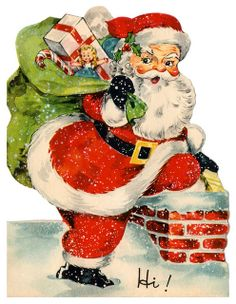 vintage santa by lovdolls, via Flickr