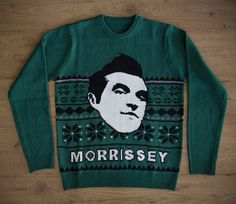 Viva Moz Morrissey Christmas sweaters now available to pre-order