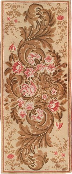 Antique English Rug 2892 Detail/Large View
