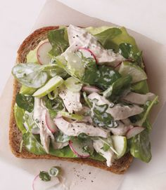 Chicken Salad With Apples & Radishes: Use radishes to add some crunch to your chicken salad.