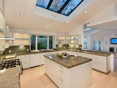 Love the skylights. Modern Kitchen - Found on Zillow Digs. What do you think?