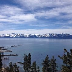 Blue energy from Lake Tahoe #traveltuesday  by luswimwear