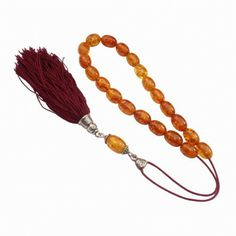 Κονιάκ κεχριμπάρι, κομψό δέσιμο, κωδ.402 Tassel Necklace, Beaded Bracelets, Jewelry, Jewlery, Bijoux, Pearl Bracelets, Jewerly, Jewelery, Jewels