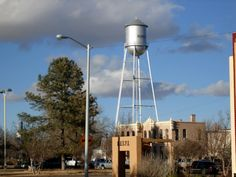 water tower< Marfa