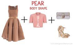 wedding dress pear shape