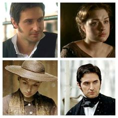 Richard Armitage (Mr. John Thornton) & Daniela Denby-Ashe (Margaret Hale) - North & South (TV Mini-Series, 2004) #elizabethgaskell