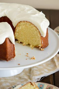 This Orange Pound Cake is everything you love about citrus desserts. It has a perfectly light orange flavor, it's wonderfully moist, and it's topped with a heavenly orange cream cheese glaze.