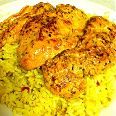 Tender juicy chicken! - 87件のもぐもぐ - Marinated Chipotle chicken with yellow rice by Juliee ~ ジュリー
