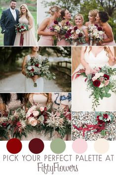 Find Wedding Flowers by Color at FiftyFlowers.com!