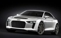 Audi Quattro Concept...not really a concept cuz audi will prob do this for the new model