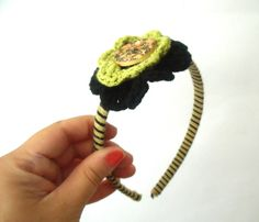 Lovely handmade headband crochet