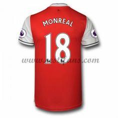 Arsenal Fotbalové Dresy 2016-17 Monreal 18 Domáci Dres