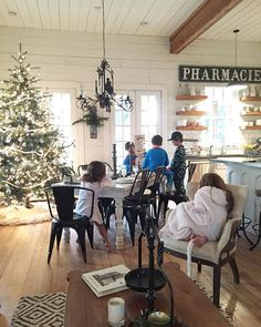 Pin for Later: 21 Photos of Chip and Joanna Gaines's Kids That Will Convince You They Live in a Fairy Tale When They Had a Cozy Christmas on the Farm