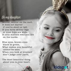 To Daughter from Mother