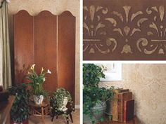 Faux painting finishes