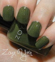 Zoya Yara Green Nail Polish