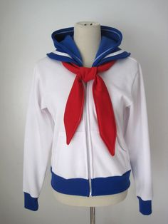 Sailor Moon Seifuku Uniform Suit Usagi Tsukino Outfit Cosplay Costume Hoodie Jacket by SixOnClothing on Etsy https://www.etsy.com/listing/187977982/sailor-moon-seifuku-uniform-suit-usagi