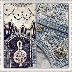 Denim and lace. #buckle #fashion www.buckle.com