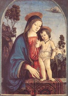 Pinturicchio - The Virgin And The Child