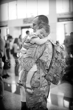 father & son reunited. military homecomings One of the greatest feelings on life is seeing your son with their daddy again